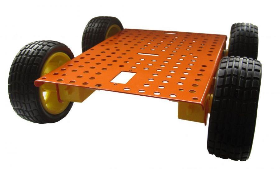"""Шасси для постройки робота """"Ровер 4 х 4"""""""